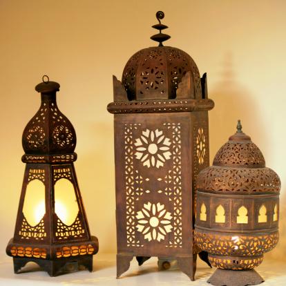 Lamp Shade「Traditional Moroccan Lanterns, Marrakesh, Morocco」:スマホ壁紙(13)