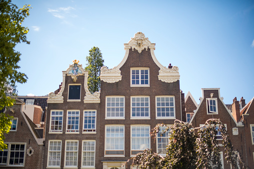 Amsterdam「Traditional Dutch Canal Houses」:スマホ壁紙(9)