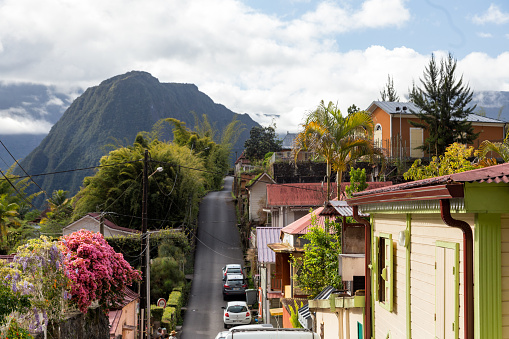 Reunion Island「Traditional creole houses in Hell-Bourg」:スマホ壁紙(11)