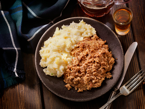 Pub Food「Traditional Haggis and Neeps with Whiskey and a beer」:スマホ壁紙(14)