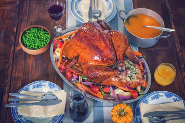 感謝祭の日のおかずと伝統的なトルコぬいぐるみ:スマホ壁紙(壁紙.com)