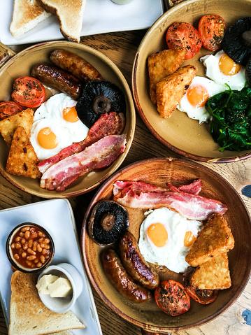 English Culture「Traditional Full English Fried Breakfast」:スマホ壁紙(11)