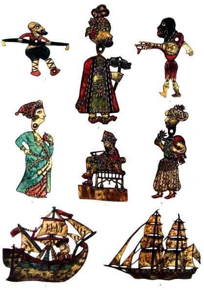 Ornate「Traditional  Turkish shadow puppets」:写真・画像(1)[壁紙.com]