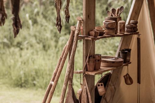 Fairy Tale「A traditional viking campsite equipment」:スマホ壁紙(5)