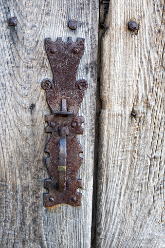 アート「Traditional lock on a door of Piornedo de Ancares (Lugo)」:スマホ壁紙(2)