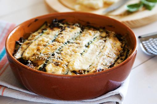 Recipe「traditional italian recipe of parmigiana di zucchini baked」:スマホ壁紙(7)