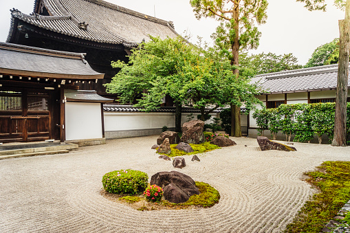 Temple「Traditional Japanese Temple In Kyoto」:スマホ壁紙(0)