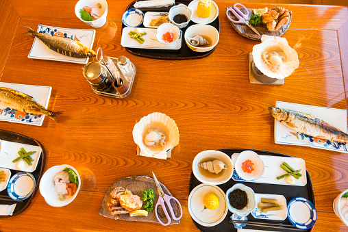 Peninsula「Traditional breakfast in Utoro town at Shiretoko」:スマホ壁紙(13)
