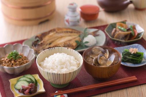 和食「Traditional Japanese Breakfast」:スマホ壁紙(8)