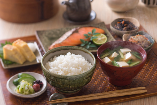 Japanese Food「Traditional Japanese Breakfast」:スマホ壁紙(4)