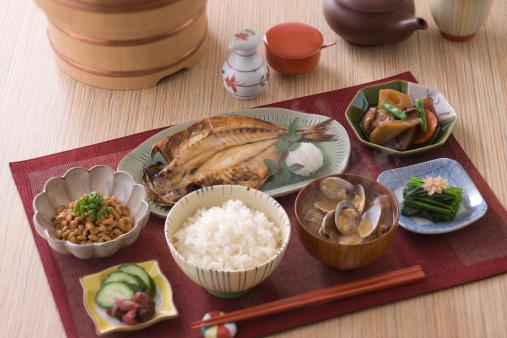 はまぐり料理「Traditional Japanese Breakfast」:スマホ壁紙(17)
