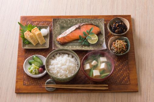 和食「Traditional Japanese Breakfast」:スマホ壁紙(10)