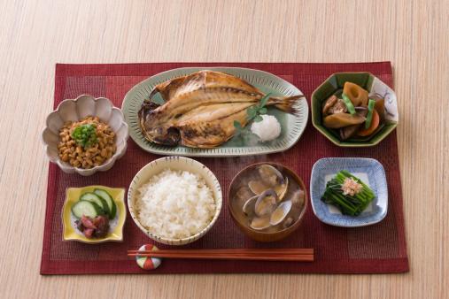 和食「Traditional Japanese Breakfast」:スマホ壁紙(11)