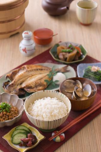 和食「Traditional Japanese Breakfast」:スマホ壁紙(16)