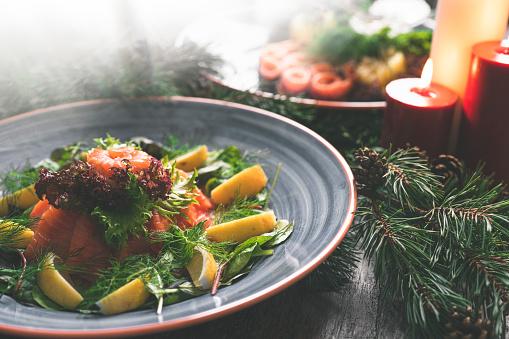 Buffet「Traditional Swedish Christmas Dinner with Salmon」:スマホ壁紙(13)