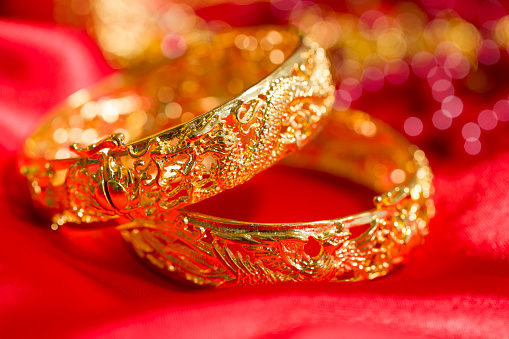 恋愛運「Traditional Chinese wedding elements」:スマホ壁紙(19)