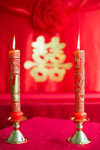 恋愛運「Traditional Chinese wedding elements」:スマホ壁紙(14)