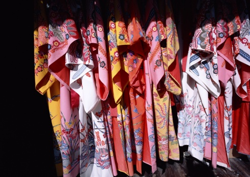 Kimono「Traditional Okinawa house and clothes」:スマホ壁紙(8)