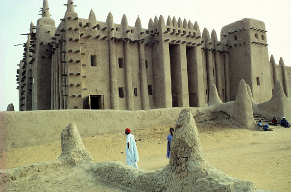 Tradition「Traditional mud architecture - great mosque - city of Djenne - Mali」:写真・画像(4)[壁紙.com]