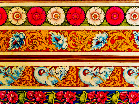 Sri Lanka「Traditional Painting Design」:スマホ壁紙(17)