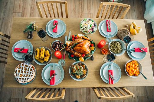 Turkey - Bird「Traditional Holiday Stuffed Turkey Dinner」:スマホ壁紙(17)