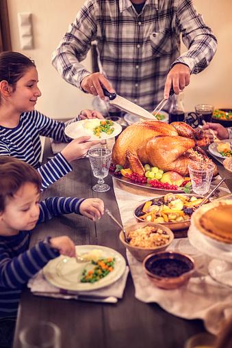 クリスマス「伝統的な祝日スタッフドターキーディナー」:スマホ壁紙(17)