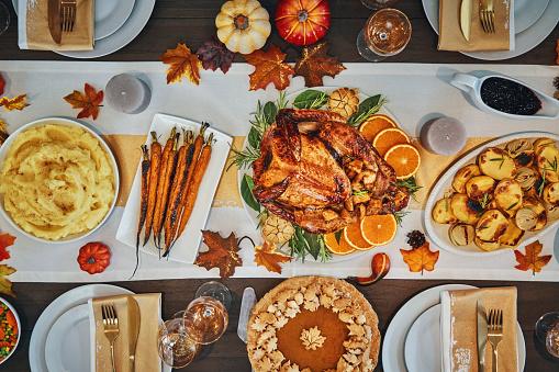 Stuffed Turkey「Traditional Holiday Stuffed Turkey Dinner」:スマホ壁紙(14)