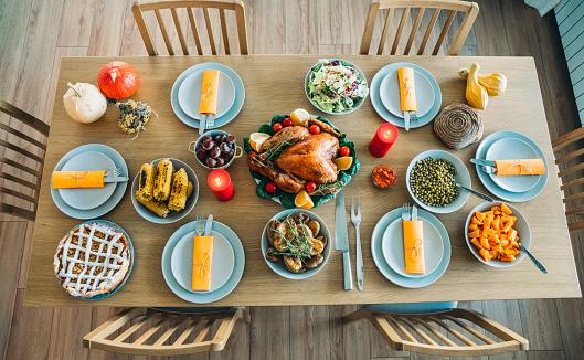 Gourmet「Traditional Holiday Stuffed Turkey Lunch」:スマホ壁紙(18)