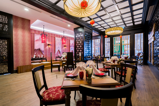 Turkey - Middle East「Traditional Chinese restaurant setting」:スマホ壁紙(12)