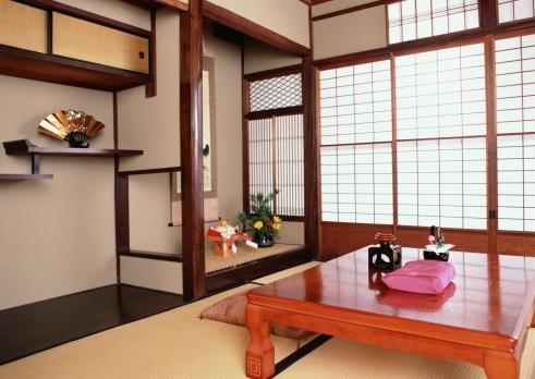 お正月「Traditional Japanese room」:スマホ壁紙(5)