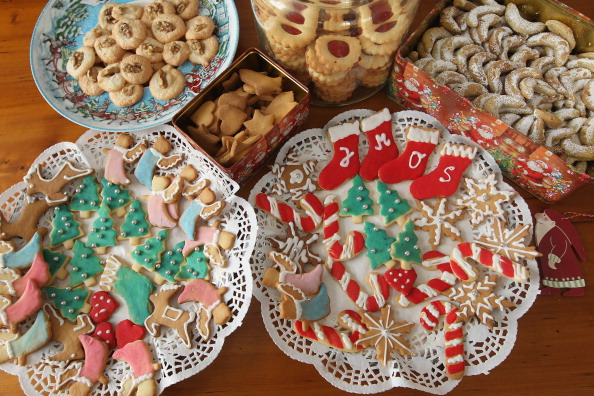 Crockery「European Christmas Cookies」:写真・画像(2)[壁紙.com]