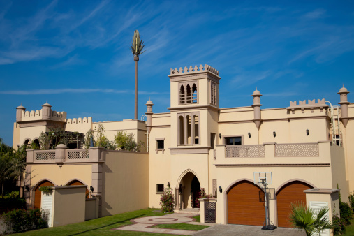 Arabic Style「Traditional architecture in Dubai」:スマホ壁紙(19)
