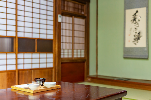 East Asia「Traditional Architecture in a Japanese Ryokan Inn」:スマホ壁紙(8)