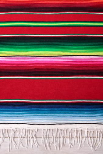 伝統「Traditional Mexican red striped serape blanket」:スマホ壁紙(19)
