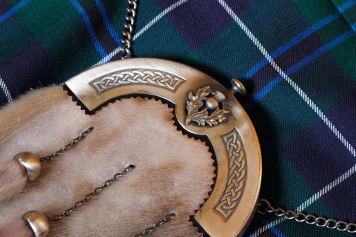 スコットランド文化「伝統的なスコットランドのスポランとキルト」:スマホ壁紙(6)
