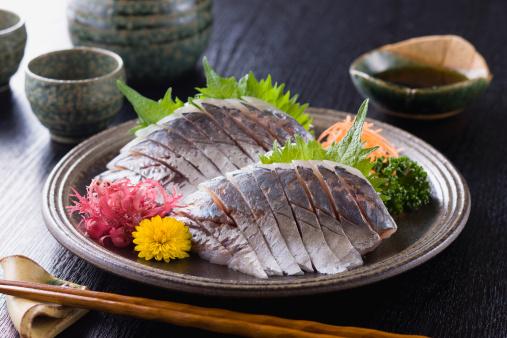 Sake「Horse Mackerel Sashimi」:スマホ壁紙(13)