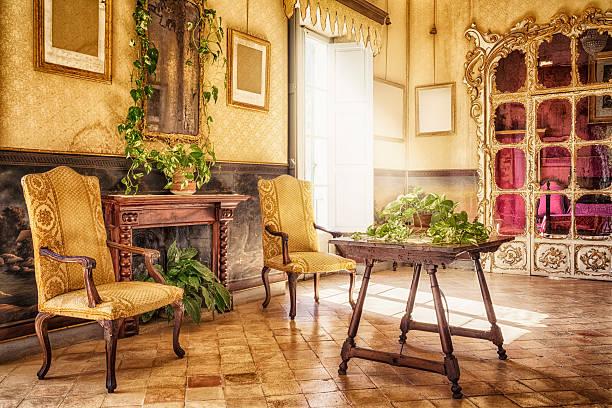 Ancient majorcan living room / Alfàbia - Sala de l'Alcova:スマホ壁紙(壁紙.com)