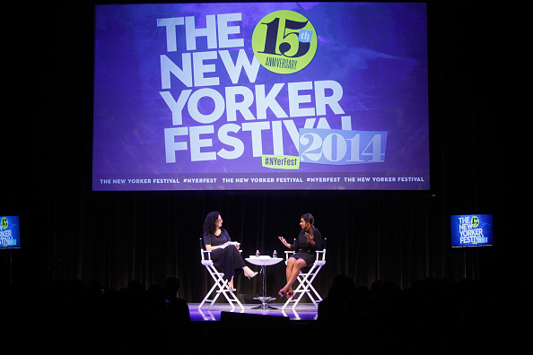 Non-Moving Activity「The New Yorker Festival 2014 - Mindy Kaling In Conversation With Emily Nussbaum」:写真・画像(5)[壁紙.com]