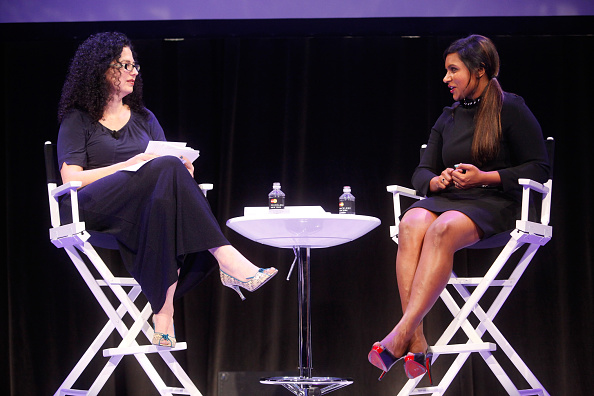 Non-Moving Activity「The New Yorker Festival 2014 - Mindy Kaling In Conversation With Emily Nussbaum」:写真・画像(4)[壁紙.com]