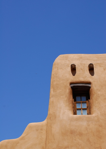 Log「Adobe Building, Santa Fe」:スマホ壁紙(4)