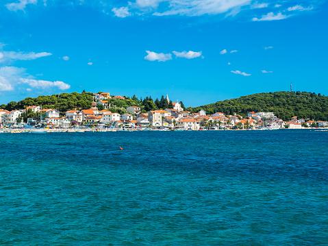 アドリア海「Croatia, Split, view to city from the sea」:スマホ壁紙(18)
