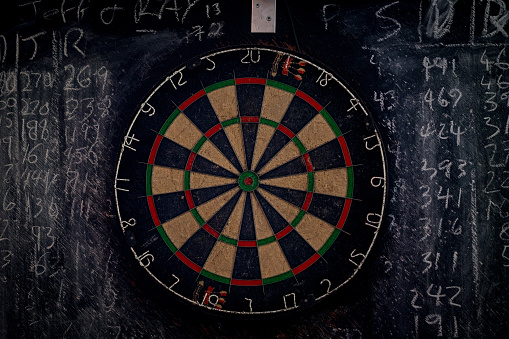 Leisure Games「A dart board and chalk board」:スマホ壁紙(17)