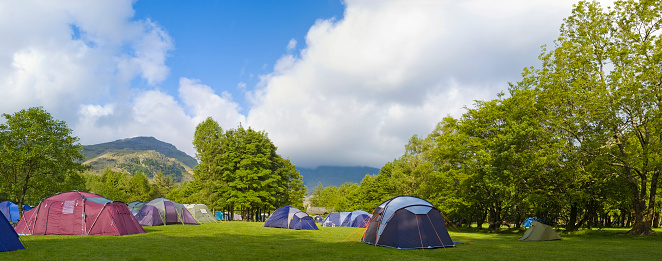 Camping「Green campground」:スマホ壁紙(14)