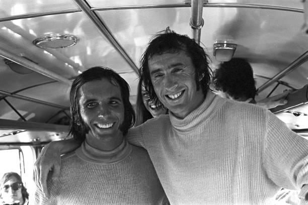 Grand Prix Motor Racing「Fittipaldi & Stewart At Grand Prix Of Brazil」:写真・画像(6)[壁紙.com]