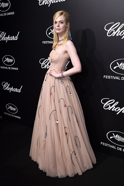 Elle Fanning「Official Trophee Chopard Dinner - Photocall - The 72nd Cannes International Film Festival」:写真・画像(18)[壁紙.com]