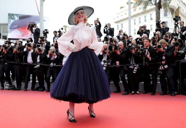 "Elle Fanning「""Once Upon A Time In Hollywood"" Red Carpet - The 72nd Annual Cannes Film Festival」:写真・画像(9)[壁紙.com]"