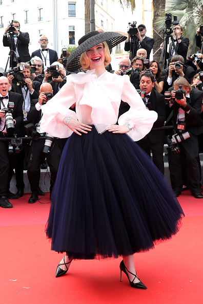 """Elle Fanning「""""Once Upon A Time In Hollywood"""" Red Carpet - The 72nd Annual Cannes Film Festival」:写真・画像(4)[壁紙.com]"""