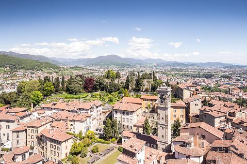 Bergamo「Bergamo Alta or the Bergamo Upper in Italy.」:スマホ壁紙(16)