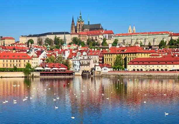 Spring Prague view:スマホ壁紙(壁紙.com)
