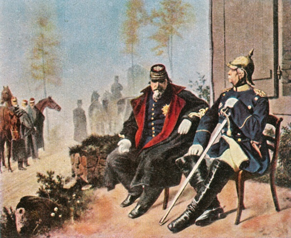 Surrendering「Napoleon Iii And Bismarck At The Weavers Cottage In Donchery」:写真・画像(18)[壁紙.com]